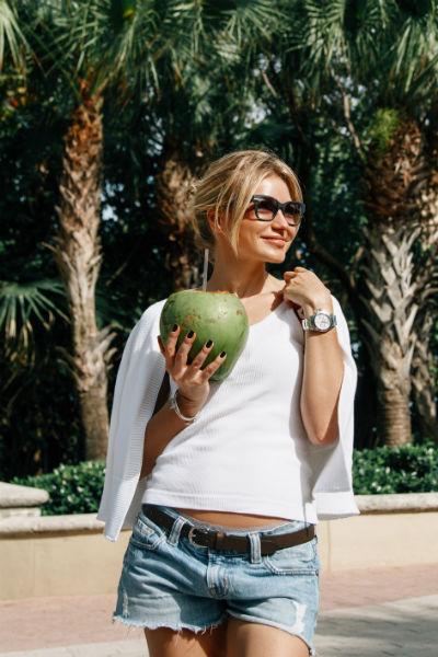 Инна провела в Майами неделю