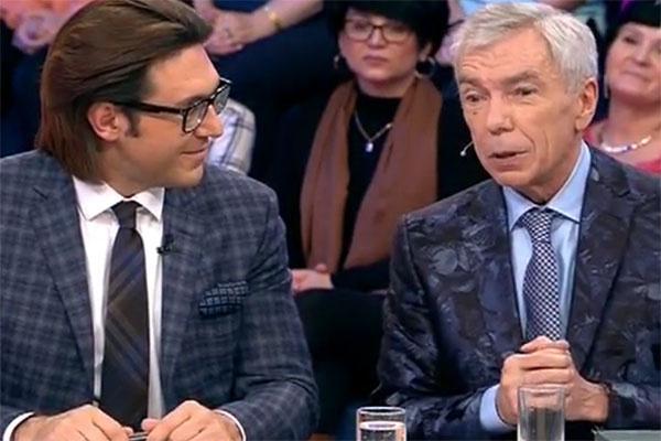 Юрий Николаев в гостях на программе Андрея Малахова