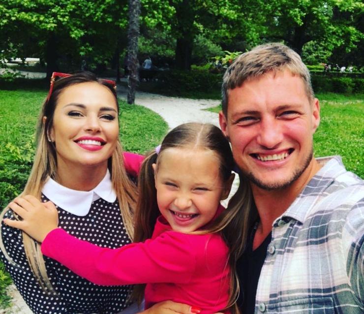 Ксения успела найти общий язык с детьми Александра