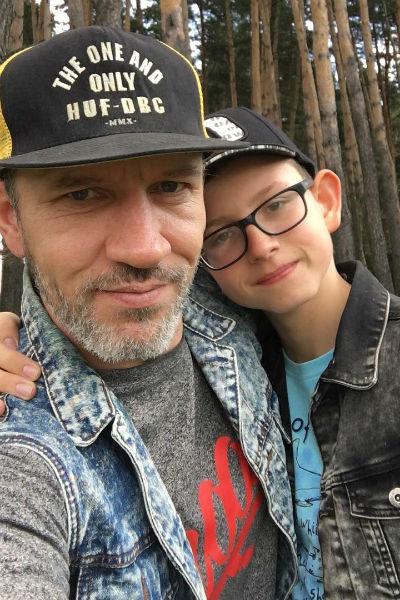 Руслан Владыко с сыном