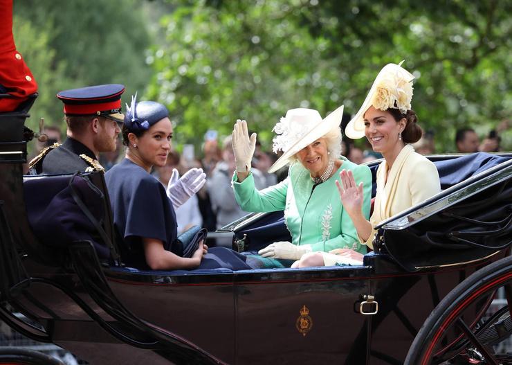 Гарри и Меган отказались от полномочий членов монаршей семьи