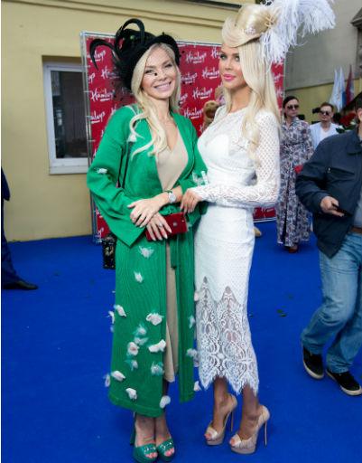 Татьяна Лялина и Мария Погребняк