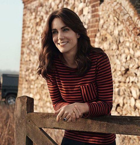 Кейт Миддлтон в фотосессии для британского Vogue