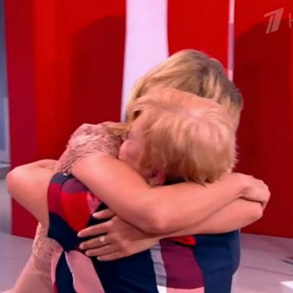 Борисова встретилась с мамой