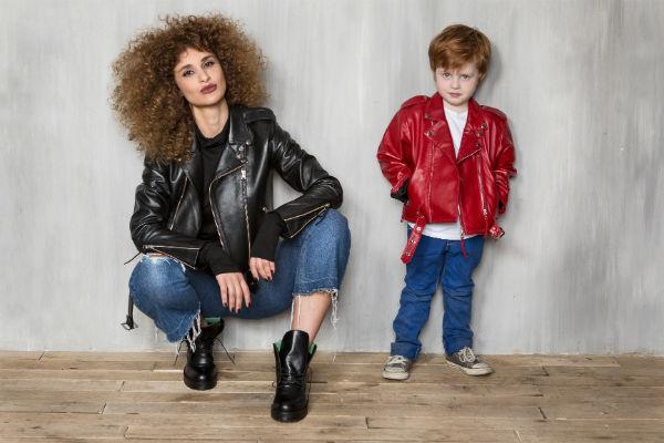 Лика Алдашвили примерила куртки-косухи