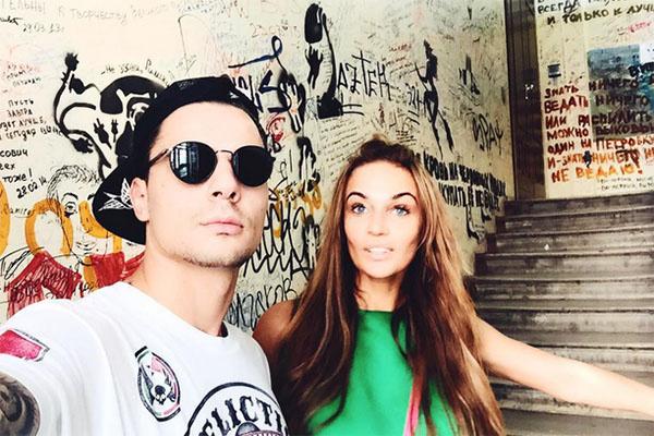 Алена и Антон обожают совместные прогулки по Москве