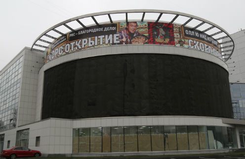 Ресторан «Ишак» займет весь второй этаж столичного торгового центра. Для афиш шоумен придумал смешные слоганы