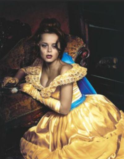 Наталья Медведева в образе принцессы Анастасии