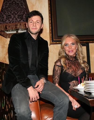 Вячеслав Манучаров и Маша Малиновская