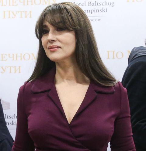 Моника Беллуччи тайно поужинала с московскими бизнесменами