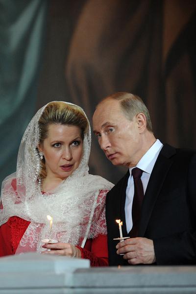 Оксана считает Владимира Путина примером для подражания