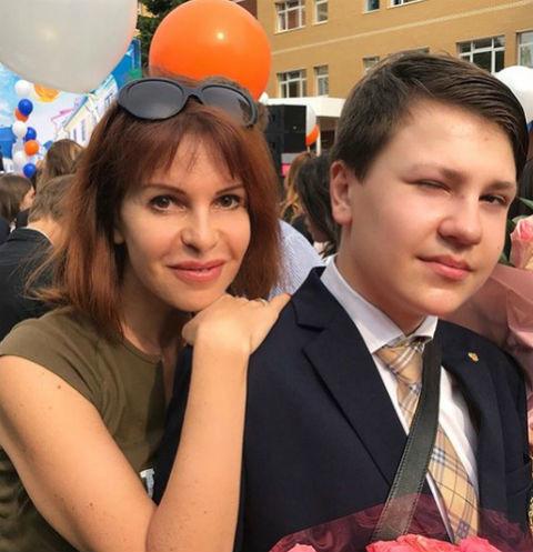 Наталья Штурм с сыном