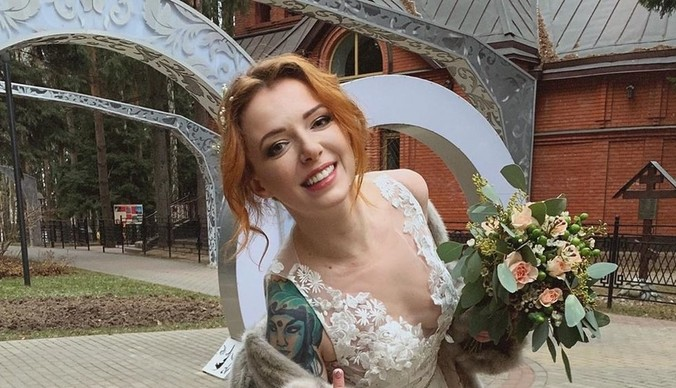 Женя Огурцова вышла замуж в третий раз