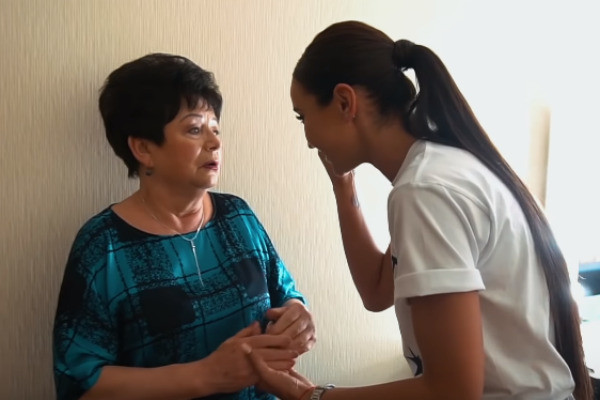Ольга мечтает подарить бабушке внуков