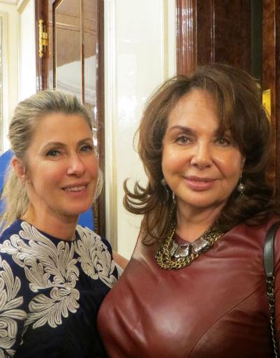 Ирина Луценко и Марина Раппопорт