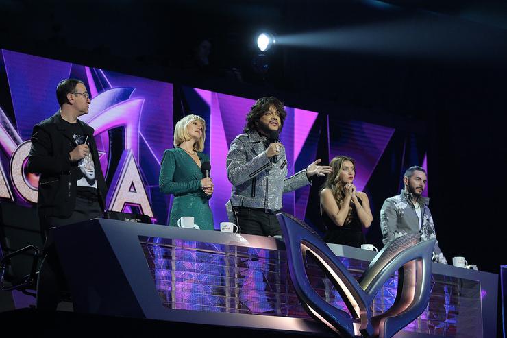 Члены жюри шоу «Маска», производством которого занимается компания «ВайТ Медиа»