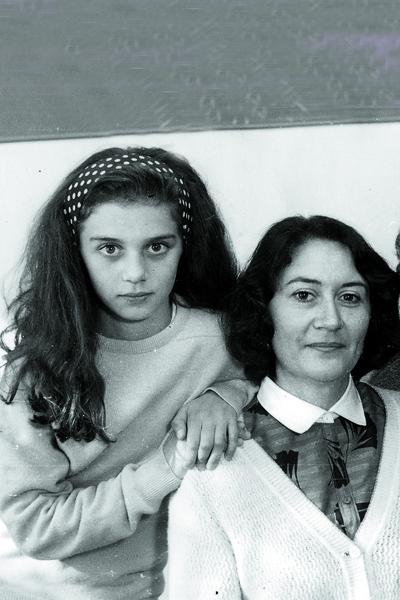 Анна Седокова с мамой
