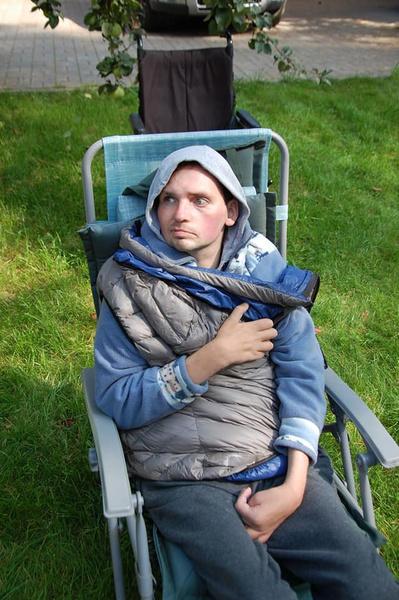 У Алексея наметился прогресс в лечении
