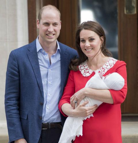 Кейт Миддлтон родила в госпитале Святой Марии троих детей