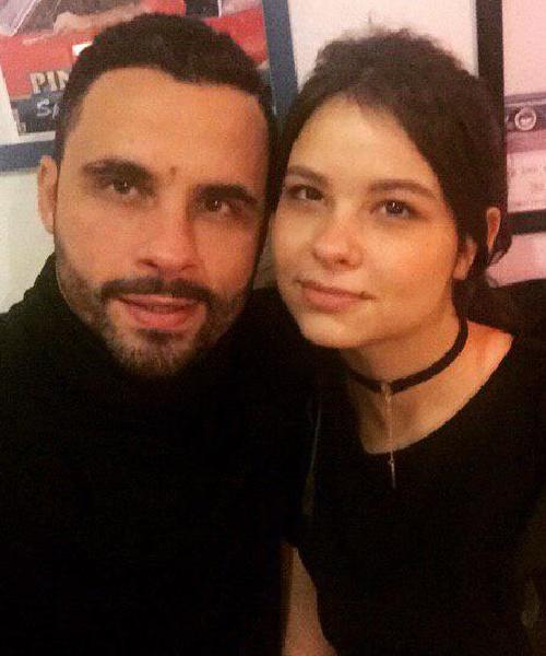 Дмитрий и его дочь Настя