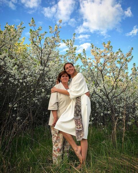 Любовь Толкалина с мамой