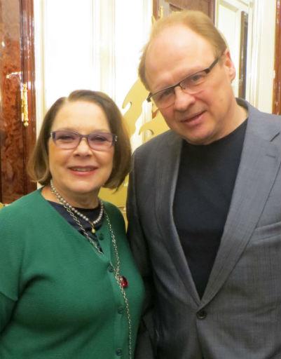 Лариса Голубкина и Александр Гурнов