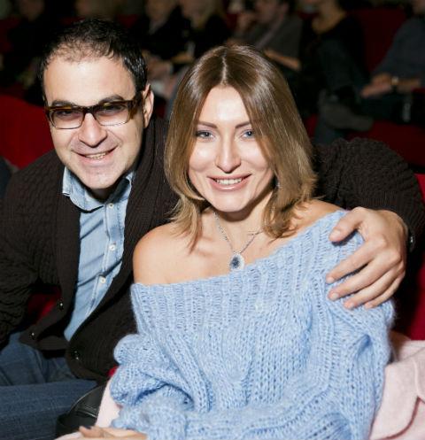 Гарик Мартиросян с супругой Жанной Левиной