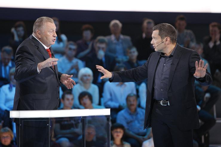 Передачи Владимира Соловьева проходили в форме дебатов