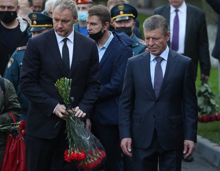 Заместитель главы администрации президента Дмитрий Козак
