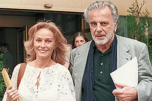 Наталья и ее второй супруг Максимилиан Шелл
