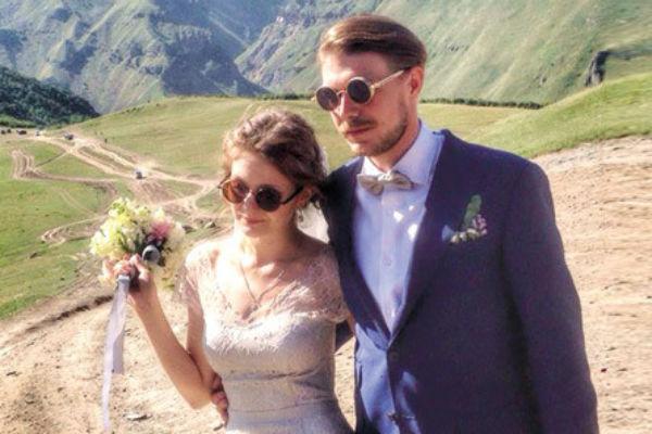 В августе прошлого года влюбленные поженились в Грузии