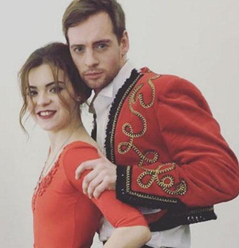 Аделина Сотникова и Александр Соколовский