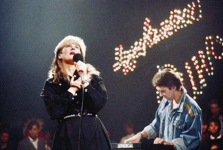 На концертах Джоанны всегда были аншлаги