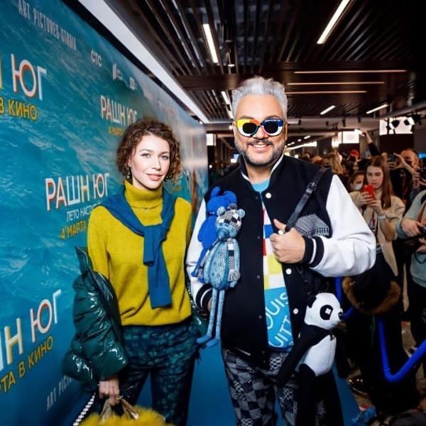 Филипп Киркоров и стилист Карина Захарова