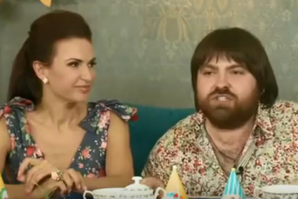 Эвелина с третьим мужем Александром Семиным