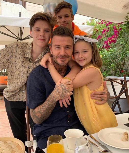 Дети обожают звездного отца