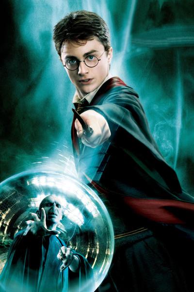 На самом деле глаза Гарри Поттера были зелеными