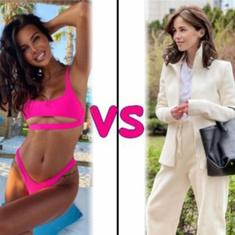 Оксана Самойлова VS Алекса: кому больше идет спортивный образ