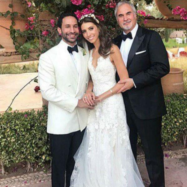 Валерий Меладзе на свадьбе дочери