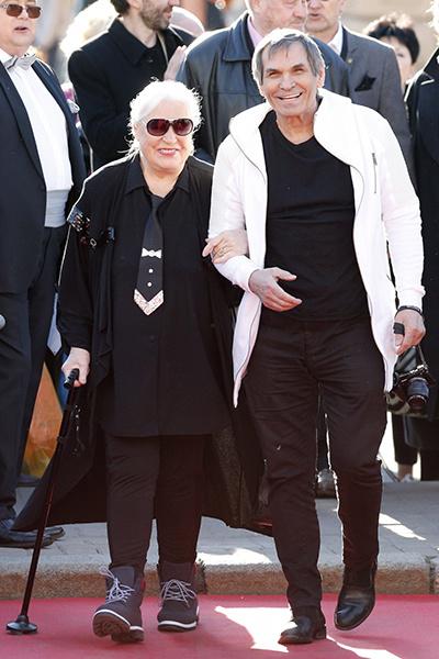Бари Каримович с женой Лидией Федосеевой-Шукшиной