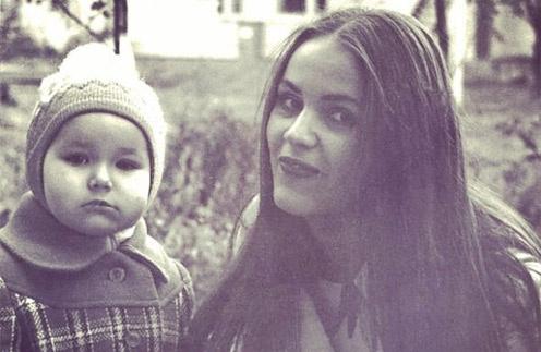 Оксана Федорова с мамой