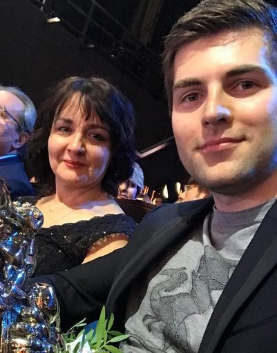 Елена Афанасьева, директор Дирекции креативного планирования Первого канала, и Дмитрий Борисов