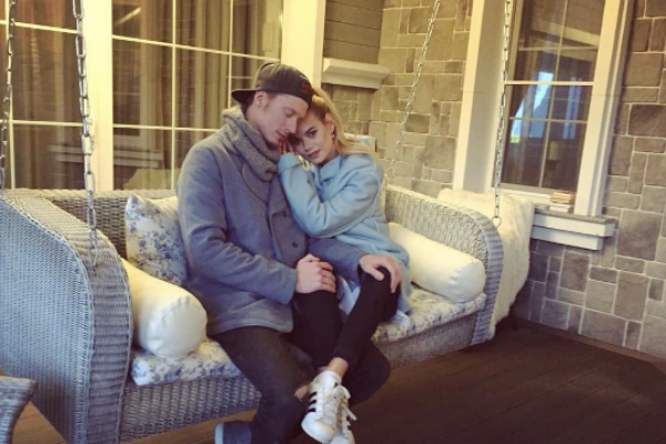 Никита Пресняков и Алена Краснова в гостях у отца музыканта