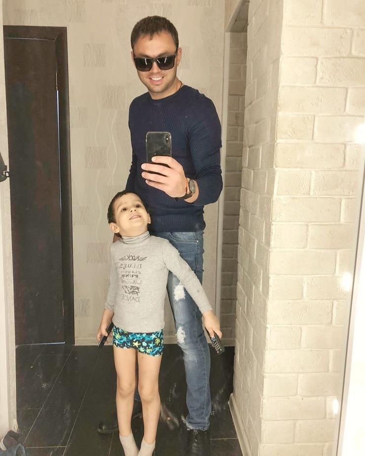 Александр с сыном Робертом