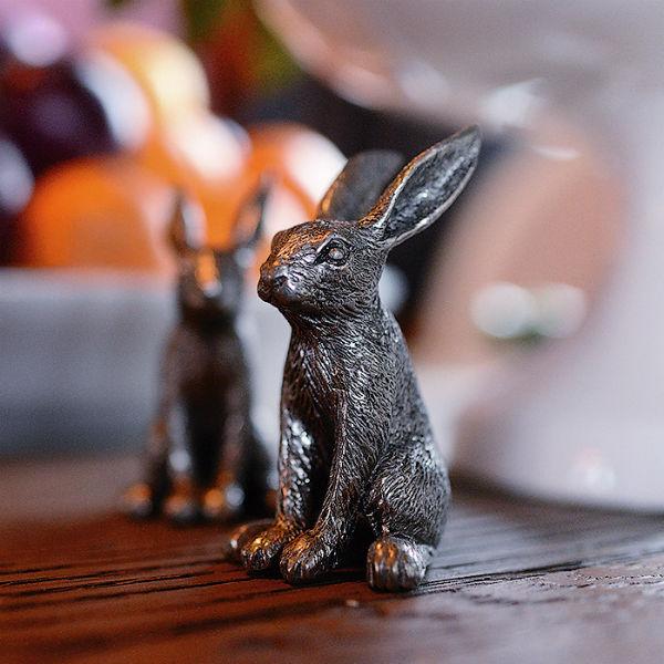 Жилье звезды украшают зайцы– в каждой комнате есть хотя бы по одному зверьку