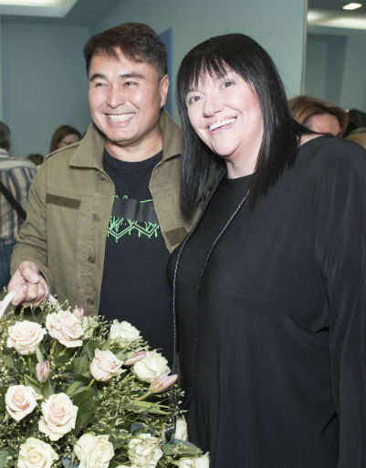 Алла Духова и Арман Давлетьяров