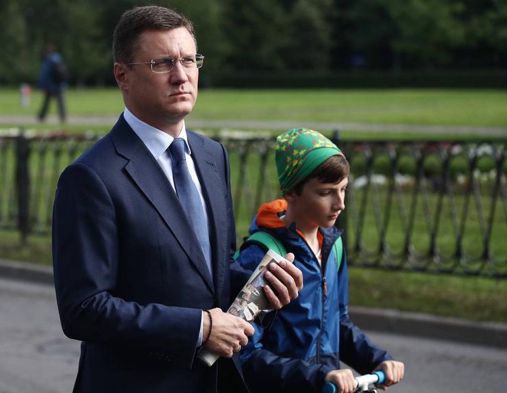 Заместитель председателя правительства Александр Новак
