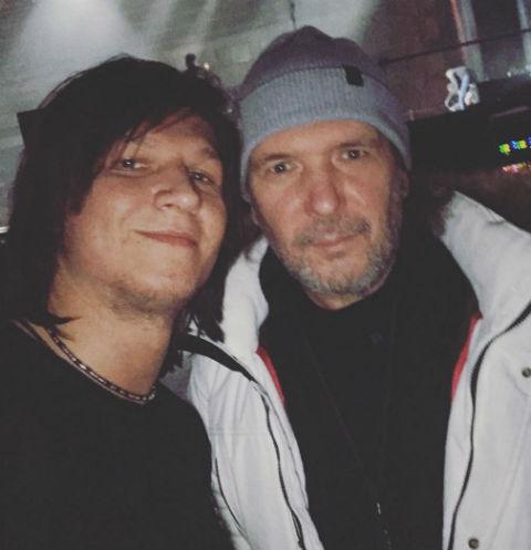 Сергей Бондаренко с отцом Анатолием