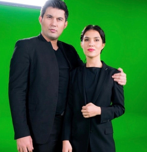Бари Алибасов-младший и Виолетта Гришина