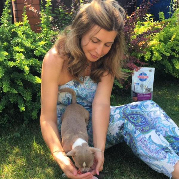 Ирина Агибалова находит время для всех членов своей семьи